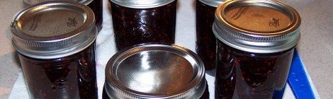 Blueberry Rasperry Jam...YUM!