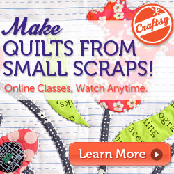 craftsy big techniques from small scraps