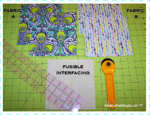 sewing a checkbook cover pattern