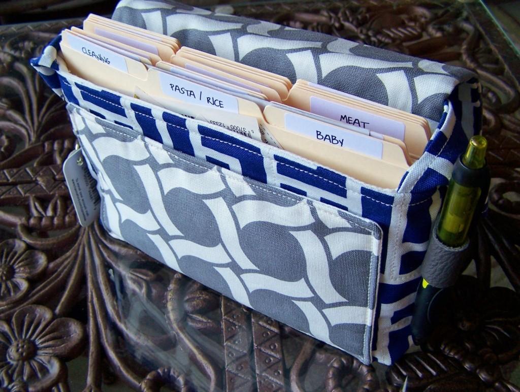 coupon organizer bag / holder