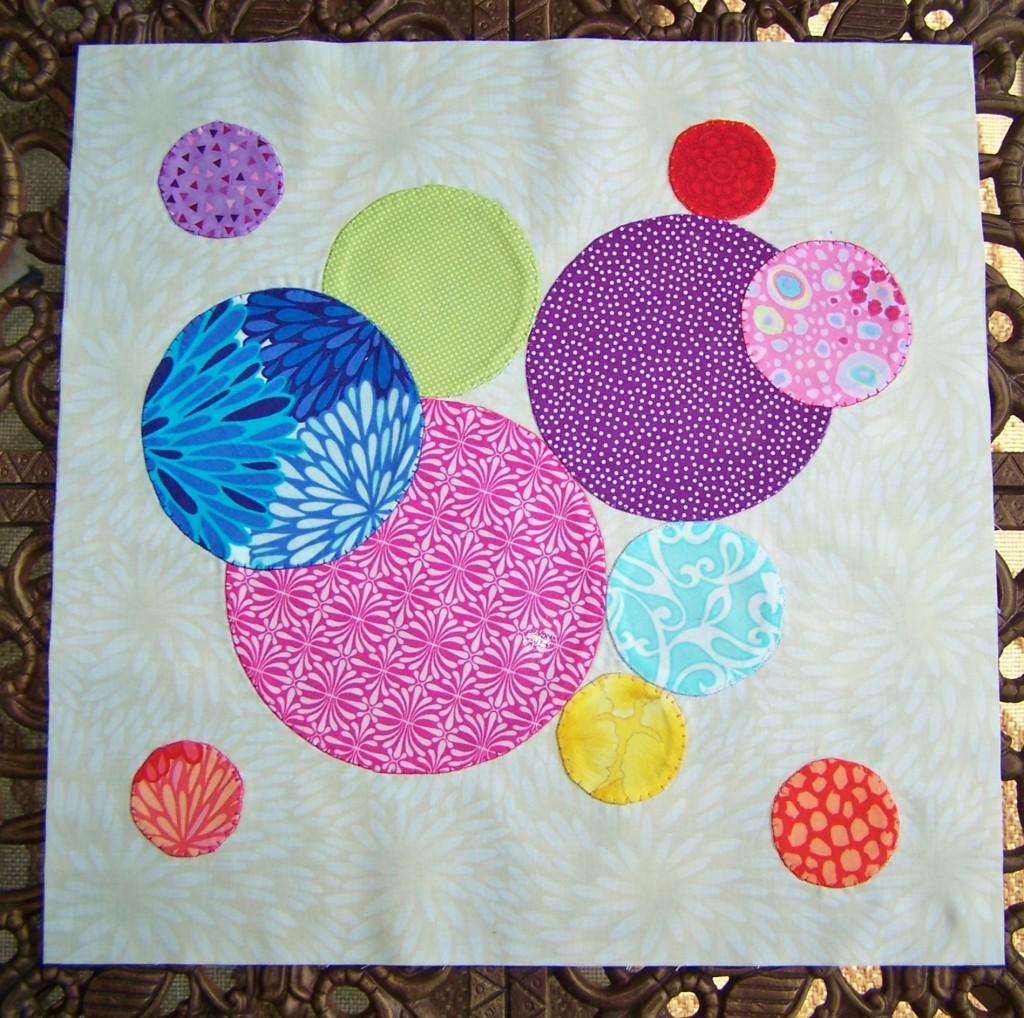 circle applique