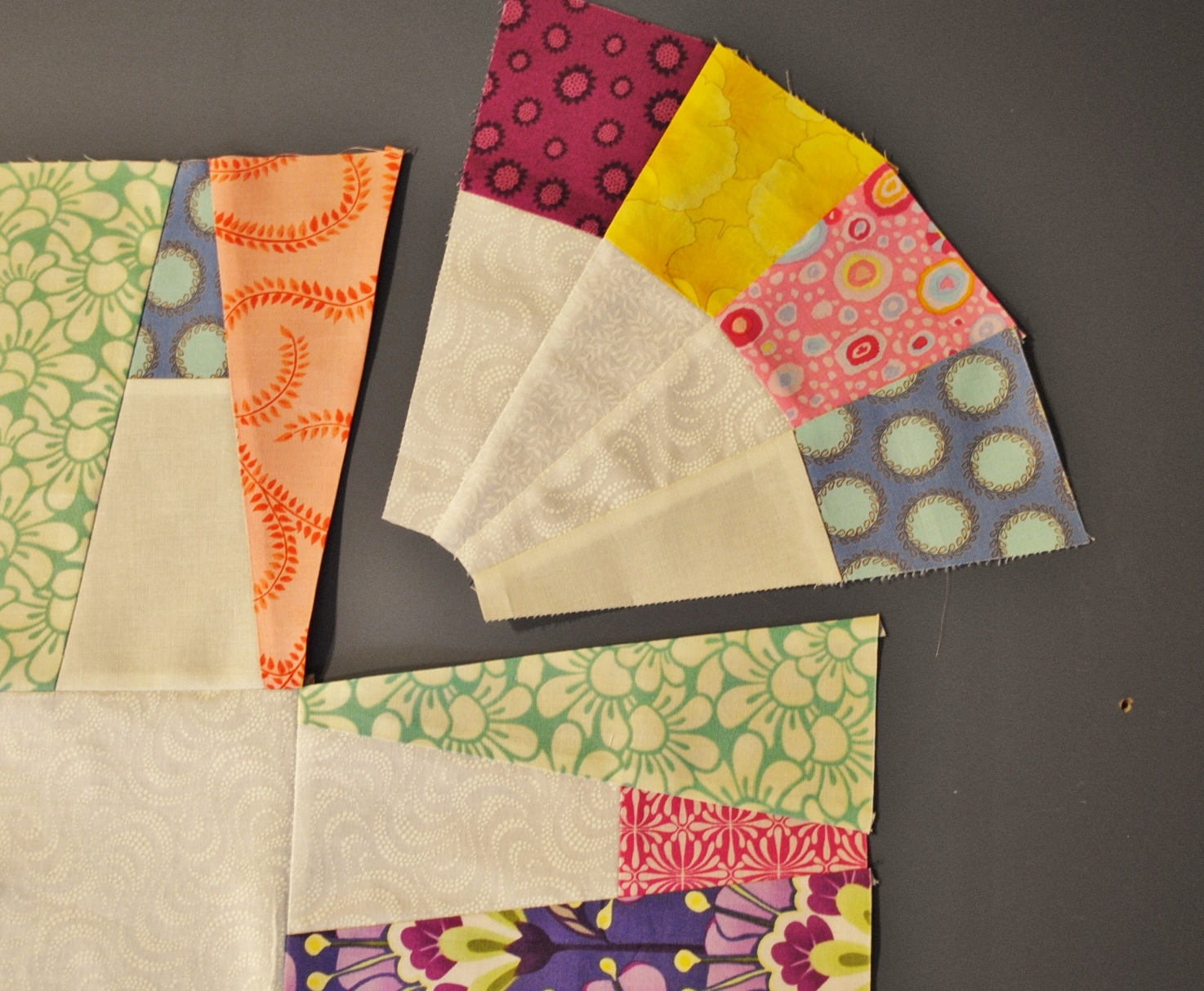 How to make a Quilt Border with Wedges.